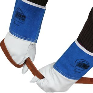 Superior Precision Cut Resistant Mig Tig Welding Gloves 370GFKL - Rope Use