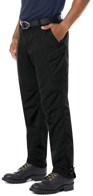 Workrite FR Pants FP62 Wildland Dual-Compliant Tactical Midnight Navy Black Example Left