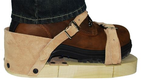 CPA 351 Hot Foot Wooden Sole Sandals - Strap View