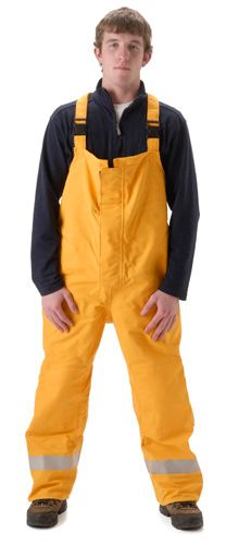 nasco mp3 arc flash fire chemical resistant breathable rain bibs