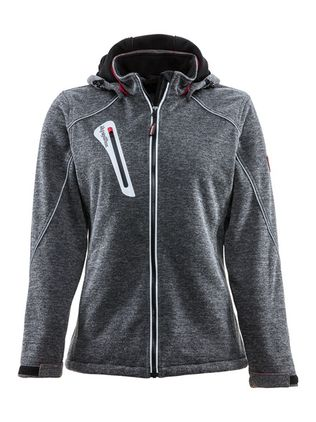 refrigiwear-9480-women's-extreme-sweater-jacket-gray-front