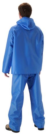 nasco worktruff lightweight waterproof rain jacket suit