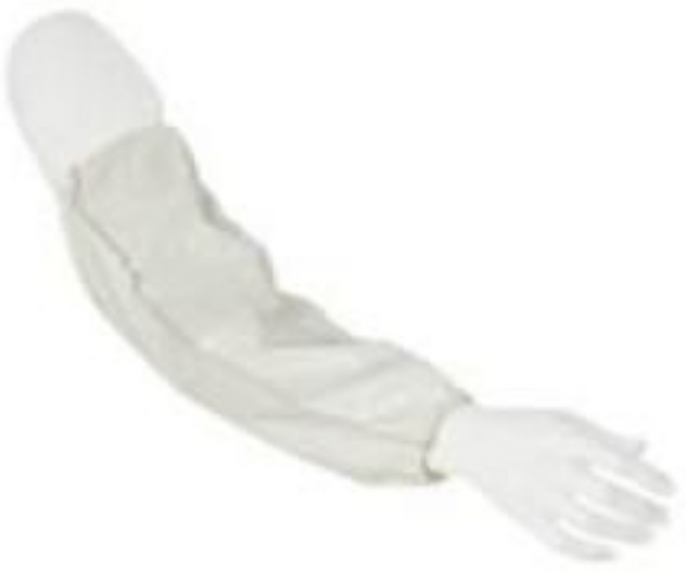 "DuPont Tyvek Disposable Sleeves 18"" Long with Elastic Ends - TY500SWH"