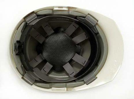 Bullard A1 High Impact Polycarbonate Alloy Ratchet White Hard Hat Suspension