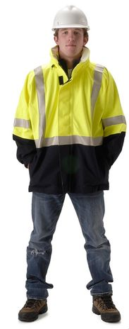 NASCO Omega 5503JNFY Arc Flash Fire Breathable Jacket