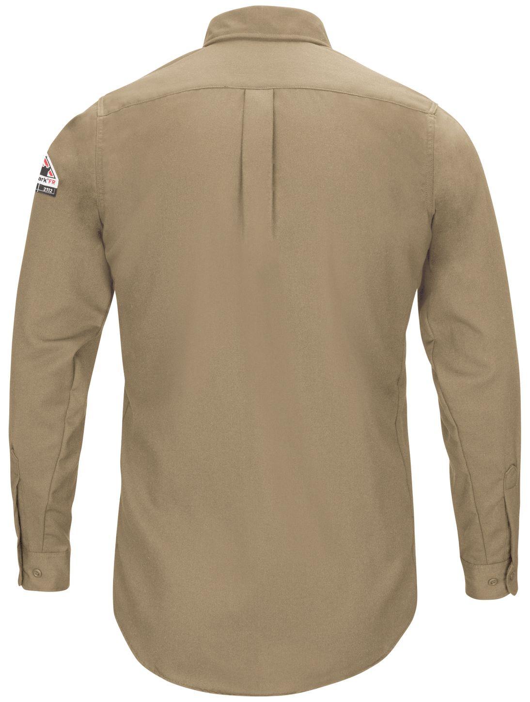 bulwark-fr-shirt-qs52-iq-series-comfort-woven-long-sleeve-lightweight-khaki-back.jpg