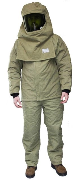 CPA 44 Cal Arc Flash Suit with Jacket and Bib Overall AG44 - Front View
