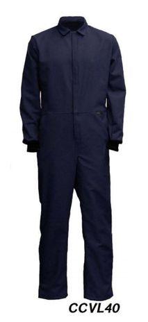 "Cementex CCVL40 40 Cal ""C Series"" Indura Ultra Soft® FR Treated Cotton Coverall, HRC 4"