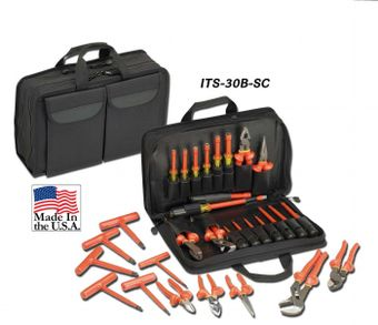 Cementex ITS-30B-SC Basic Electrician's Softcase Set, 30PC