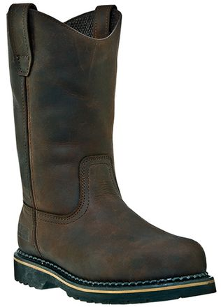 "McRae 11"" Soft Toe Leather Work Boots MR85144"