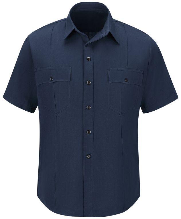 Workrite FR Shirt FSM2, Station No. 73, Uniform Navy Front