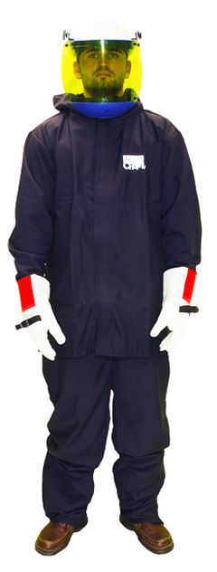 Chicago Protective 12 Cal Hooded Jacket Suit Kit