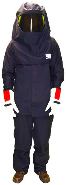 CPA Arc Flash Suit AG20 - 20 Calorie with Jacket and Bib Overall, HRC 2 Jacket Bib 40 Cal Arc Flash Kit
