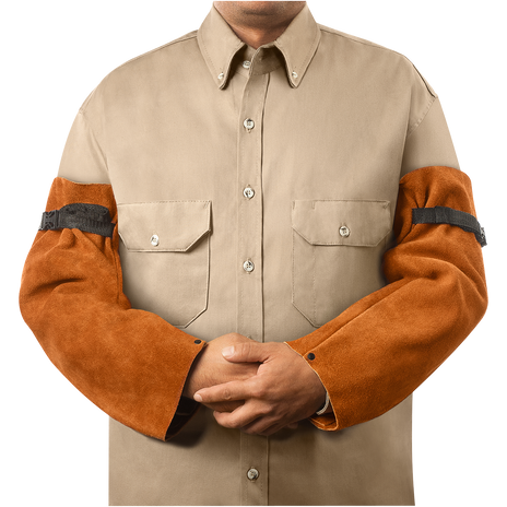 """Steiner Weld Rite Leather Sleeves 92180 - 18"""" Long"""