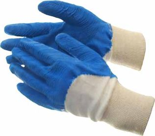 Glass Handler Wrinkle Latex Coated Work Gloves