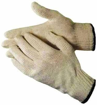 cotton work gloves string knit ha0201
