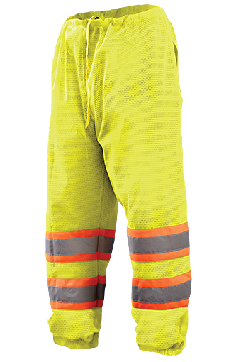 Occunomix ECO-TEM2T Hi-Viz Two-Tone Mesh Pants, Class E