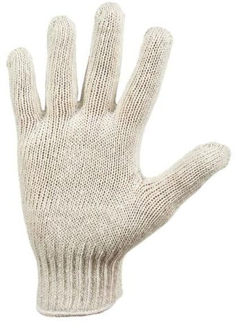 RefrigiWear Cold Weather Apparel - Midweight Knit Glove Liner 0301 - Natural