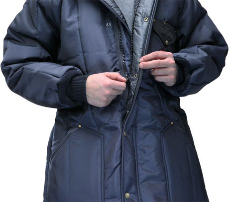 RefrigiWear Iron-Tuff Winter Work Parka 0360 - Front Zipper