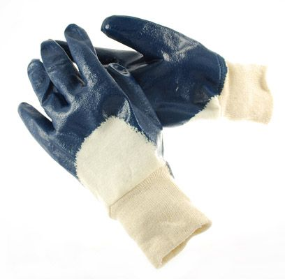 Light Weight Nitrile Coated General Purpose Cotton Work Gloves