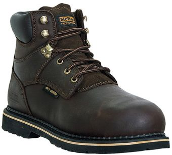 "McRae 6"" Steel Toe Leather Work Boots MR86734"