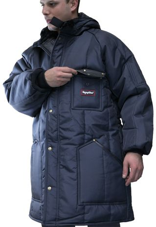 RefrigiWear Iron-Tuff Winter Work Parka 0360 - Chest Pocket
