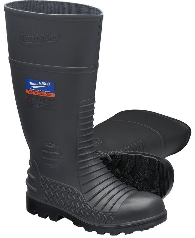Blundstone 028 Steel Toe Industrial Gumboots - Waterproof, Metatarsal Protection, Puncture Resistant Midsole