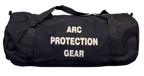 cpa 909 arc gear bag for arc flash clothing kits side view