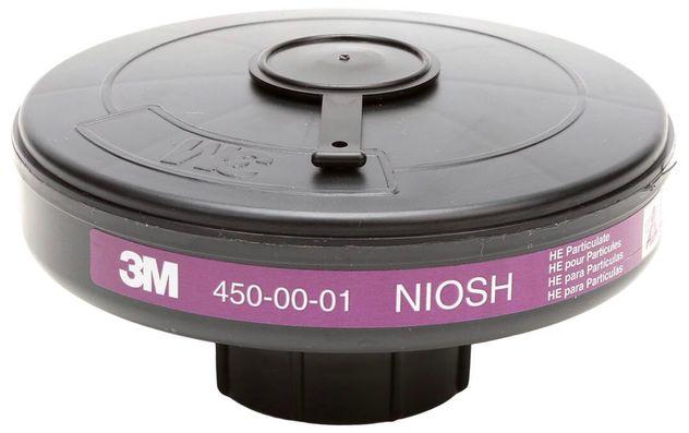 3M Breathe Easy P3 High Efficiency (HE) Filter Cartridge 450-00-01R12