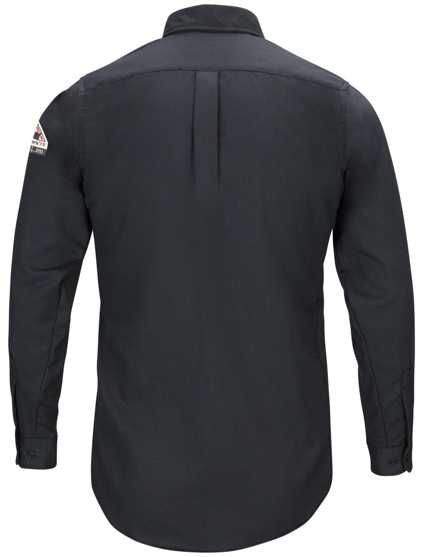 bulwark-fr-shirt-qs50-iq-series-comfort-woven-lightweight-navy-back.jpg