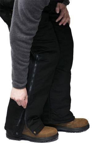 RefrigiWear ComfortGuard High Bib Work Overall 0685 - Leg Zipper