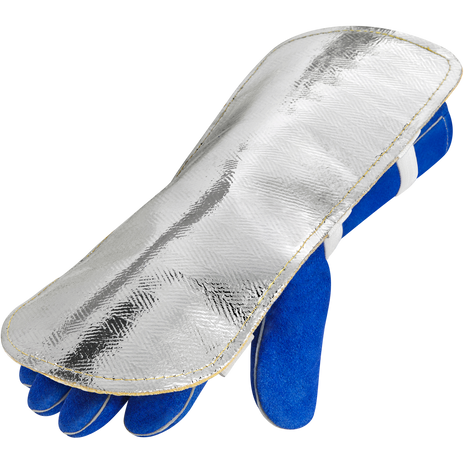 Steiner Double Layer Back Pads 15A76-13 Aluminized Top Goldenglass Bottom Example