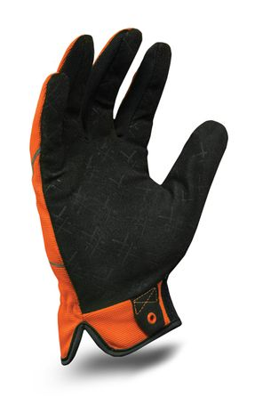 Ironclad exo-hso HI-VIZ UTILITY: ORANGE glove_palm
