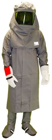 Chicago Protective Grey Arc Flash Rated Coat Suit