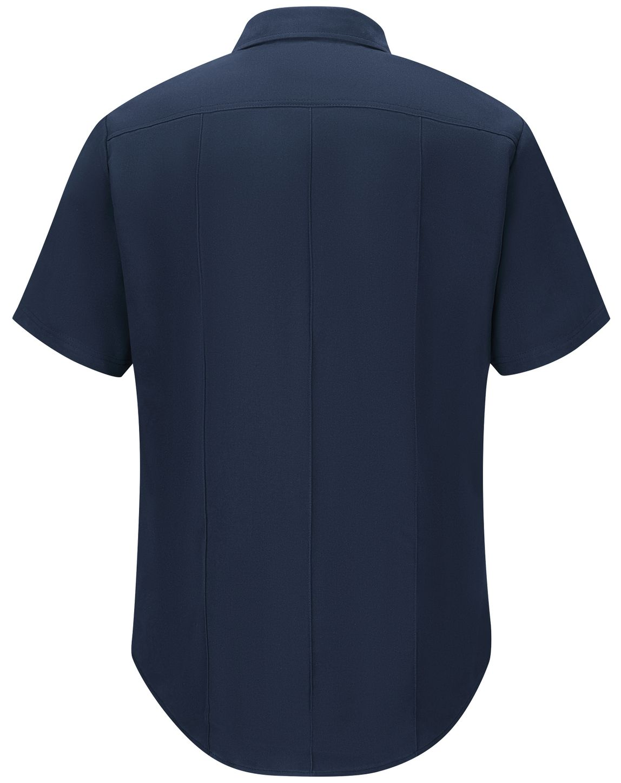 Workrite FR Shirt FSM2, Station No. 73, Uniform Navy Back