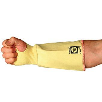 Superior SLKW7TH Cut Resistant Woven Kevlar Sleeves with Thumb Holes, 7""
