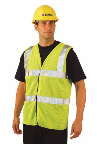 Occunomix LUX-SSCOOLG OccuLux Cool Mesh High Visibility Vest