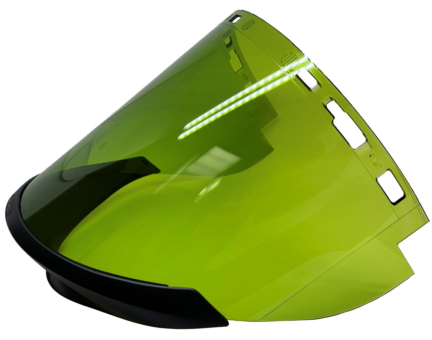 chicago-protective-apparel-replacement-visors-for-face-shields-wv-arc-12-green-left.jpg