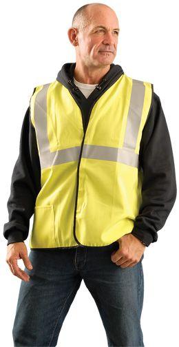 Occunomix LUX-SSCGFR Hi Vis Class II Arc Flash Rated Vest