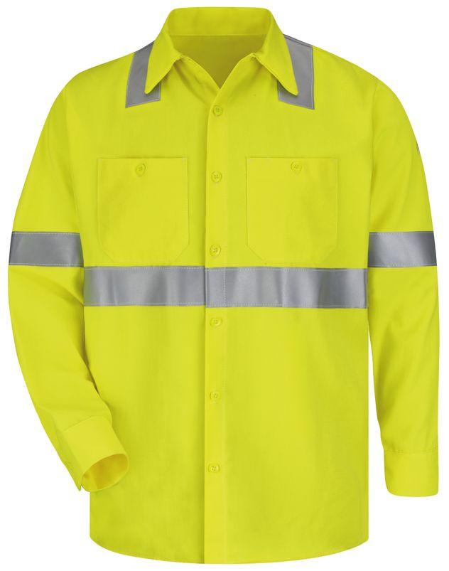 bulwark-fr-hi-visibility-shirt-smw4-midweight-work-yellow-green-front.jpg