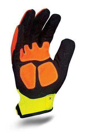 Ironclad exo-hza hiviz abrasion glove_palm