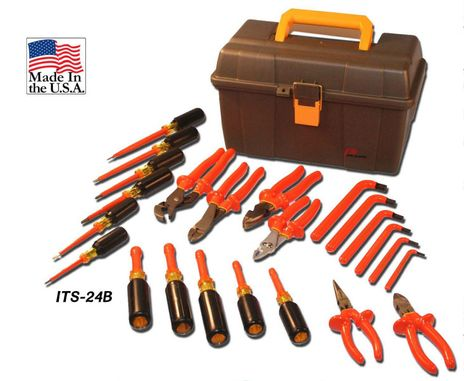 Cementex ITS-24B Insulated Tools Basic Kit, 24PC