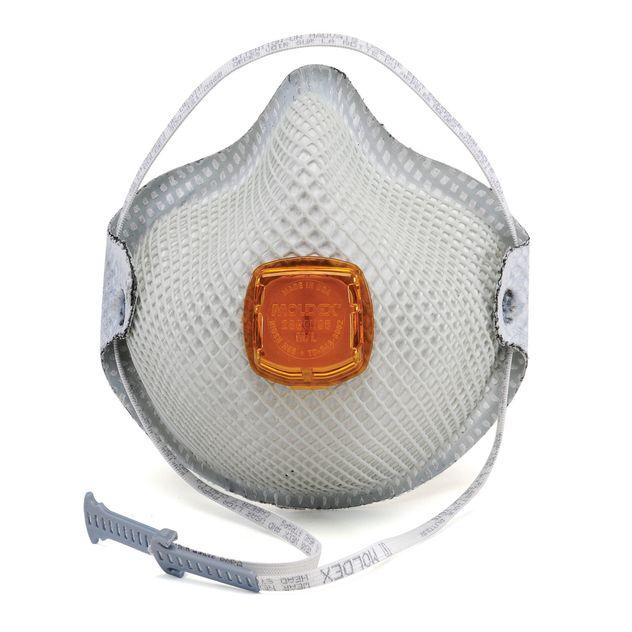 Moldex HandyStrap Ozone and Organic Vapor Mask 2800N95 White