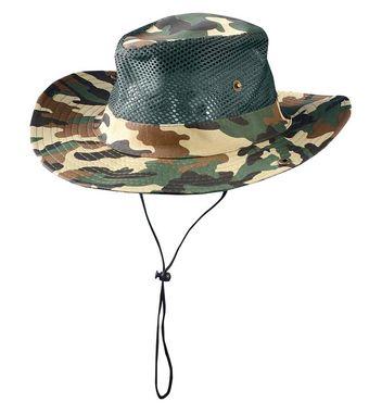 Occunomix SH100 Lightweight Mesh Hat Camo