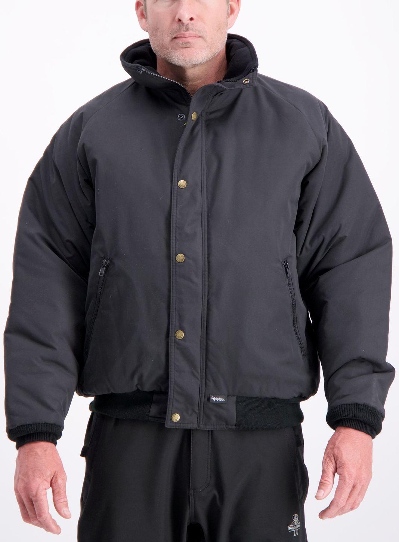 RefrigiWear 0450 Chillbreaker Insulated Work Jacket Black Example