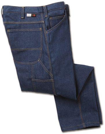 Workrite Fire Resistant Carpenter Jeans 496ID12, Indura