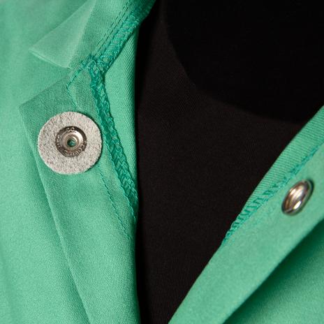 """Steiner Weldlite Flame Retardant Jacket Cotton 30"""" 1030 Example"""