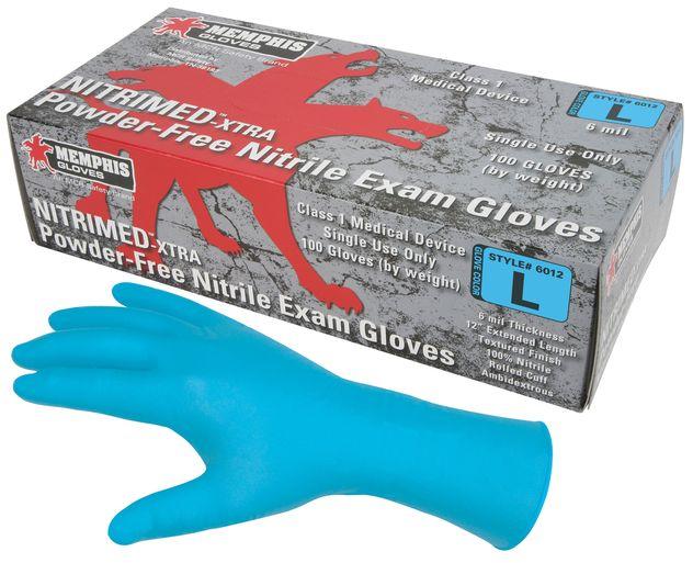MCR Safety Nitri+Med Nitrile Disposable Glove 6012