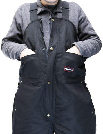 RefrigiWear ComfortGuard High Bib Work Overall 0685 - Front Pockets