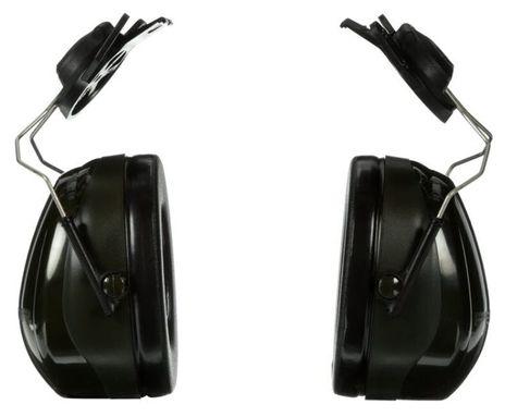 3M Peltor Optime 101 Ear Muffs H7P3E Cap Mounted Back